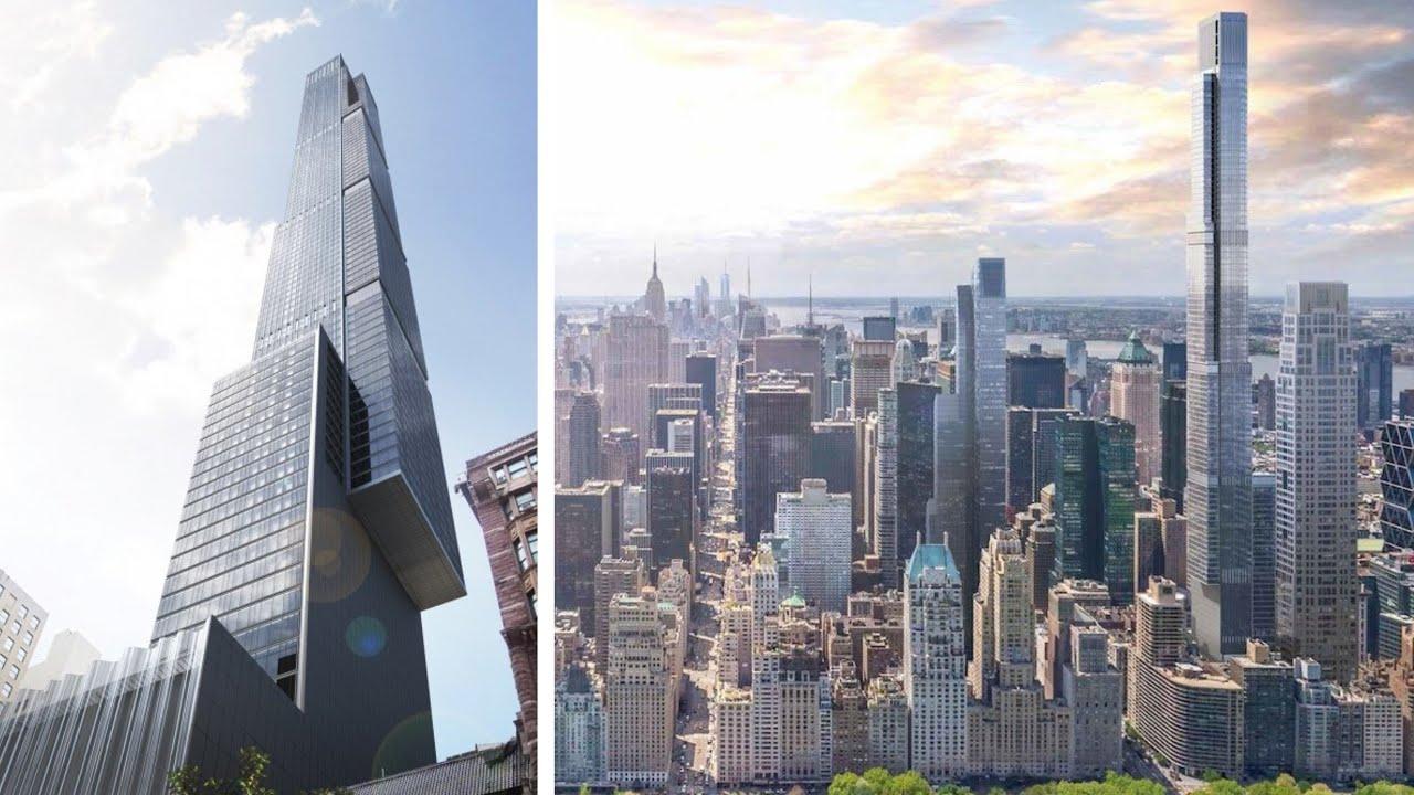 new york central park tower america 39 s tallest skyscraper. Black Bedroom Furniture Sets. Home Design Ideas
