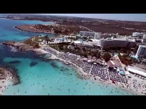Nissi Beach Agia Napa DJI Phantom 3