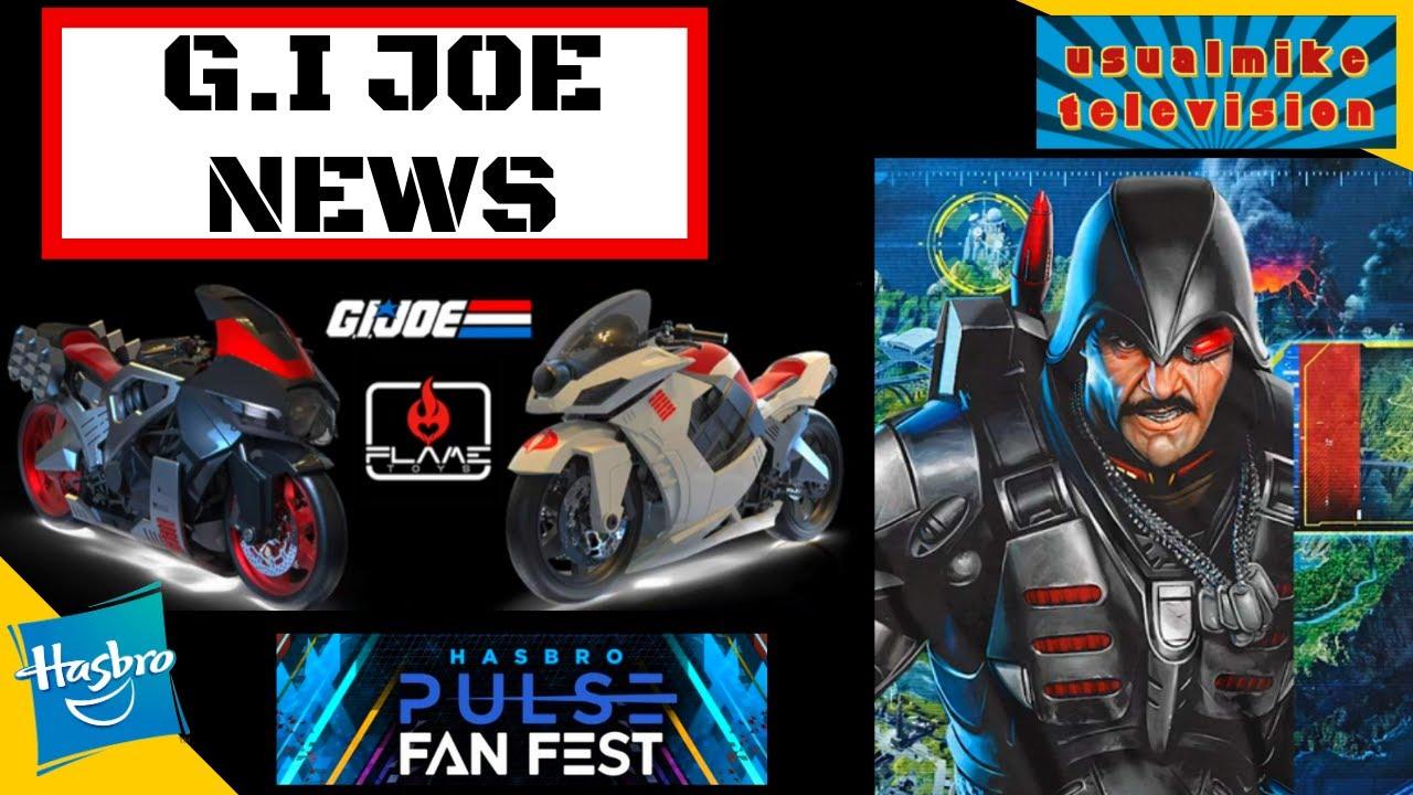 G.I JOE ACTION FIGURE NEWS MAJOR BLUDD CLASSIFIED SERIES COBRA ISLAND EXCL & HASBRO PULSE FAN FEST