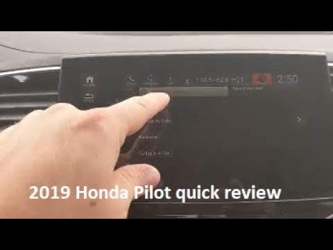 2019 Honda pilot EXL with Navigation and Rear Entertainment quick review