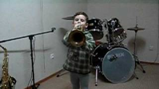 Flori Trompete 4Jahre