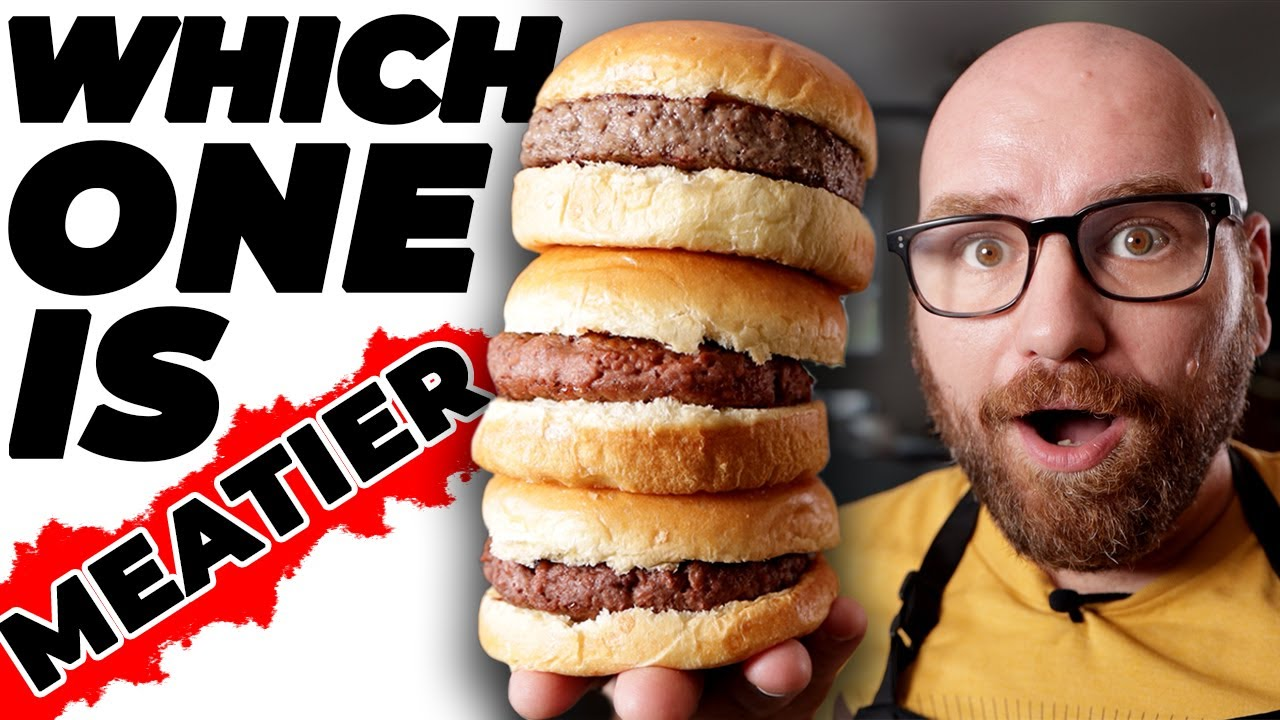 NEW Beyond Burger vs Impossible Burger vs OLD Beyond Burger: Which is the MEATIEST