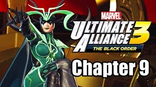 Marvel Ultimate Alliance 3: The Black Order - Gameplay Walkthrough Part 9 (Chapter 9)