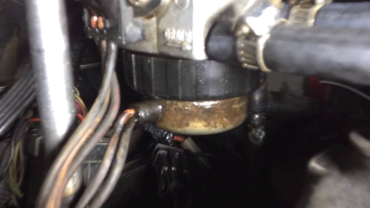6 5 Diesel Fuel Heater Leaking Diesel Youtube
