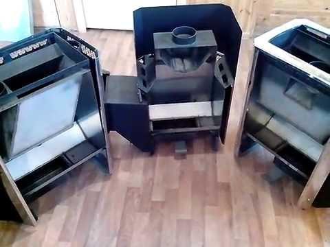 видео: Чем одна печь для бани отличается от другой, на примере разрезанных образцов классики Теплодара