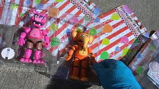 FNAF Fridays! Pizzeria Simulator Action Figure Set with Scrap Baby! #fnafbaf #toyinsanity #fullset