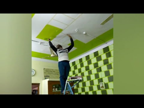 Wall painting creative idea wall art ceiling art 3d brick design royal play asian paint part 3 banty