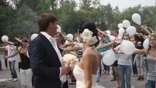 Свадебный флэшмоб в Омске
