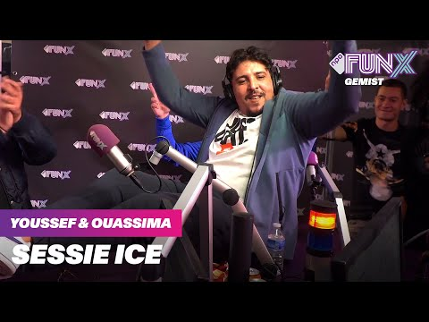 ICE ZET RWINA IN DE FUNX STUDIO   YOUSSEF & OUASSIMA