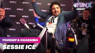 ice zet rwina in de funx studio youssef ouassima