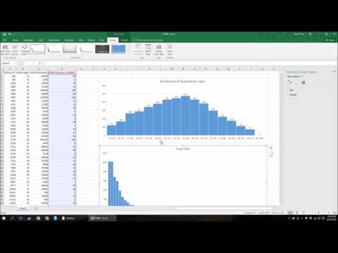 How To Make A Histogram In Excel 2016