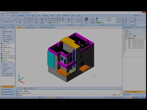 Get Started with GstarCAD Architecture - Tutorial