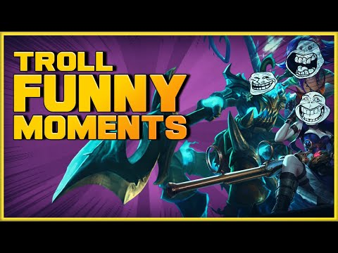 Top League Of Legends Funny Moments-Try Not To Laugh EP.2