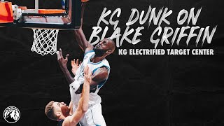 Kevin Garnett Dunk on Blake Griffin - KG Hall of Fame Series