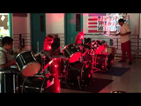 Drum show May 2015 @South Pointe Elementary School