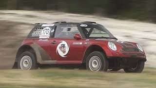 MENTAL Sounding Mini Cooper S Off-Road Buggy w/ Cyclone 2.0L V8 engine!