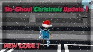 [NEW CODE!] RO-GHOUL CHRISTMAS UPDATE!   Ro-Ghoul   Roblox