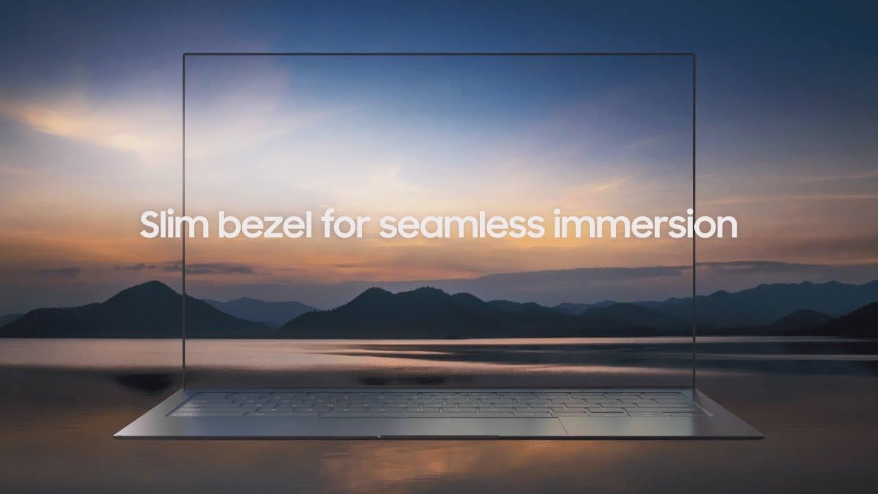 "Samsung Introduces Ultra-Sleek OLED Laptop ""BLADE BEZEL"""