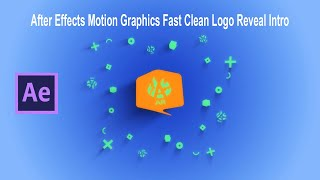 Motion Graphics Fast Clean Reveal Intro Template Logo animation After Effects 2020