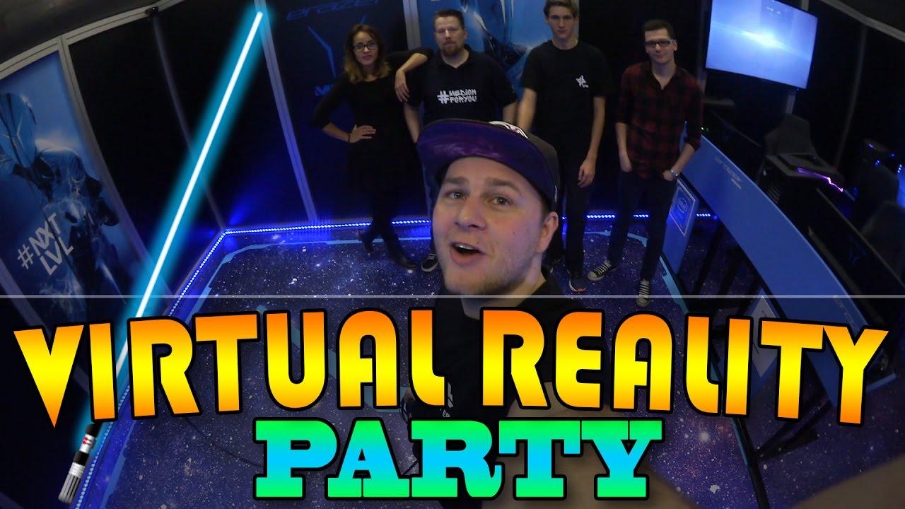 VIRTUAL REALITY PARTY - Frei bewegen in STAR WARS / HORROR & mehr VR ...