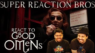 SRB Reacts to Good Omens Official Amazon Prime Teaser Trailer
