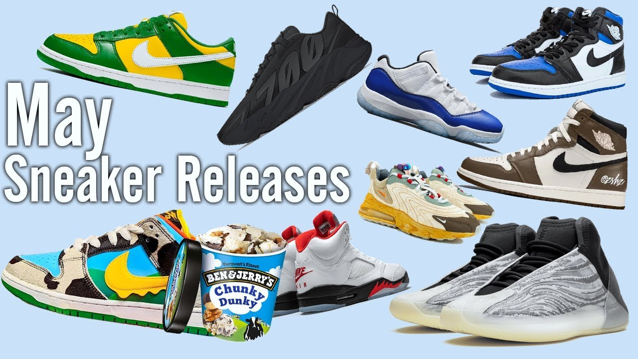 Hyped Sneaker Releases | May 2020