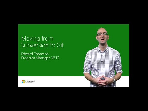 Moving from Subversion to Git | T177
