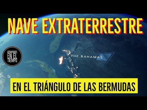 NAVE EXTRATERRESTRE EN EL TRIANGULO DE LAS BERMUDAS