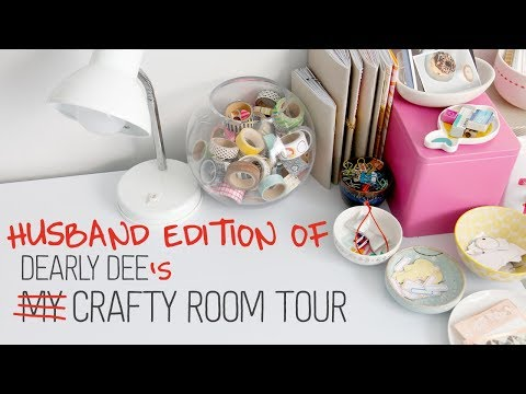 Dearly Dee's Crafty Room Tour // The Husband's Perspective