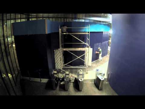S4 TriCaster Studio -  Willis Resilience TV studio build time-lapse