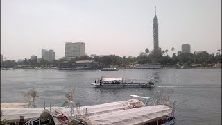 Nile River, Cairo, Lower Egypt, Egypt, North Africa, Africa