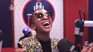 Nandi Madida Talks about New Music & Leaving BET on the DJSbuBreakfast