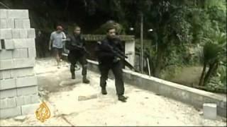 Brazil hunts drug traffickers