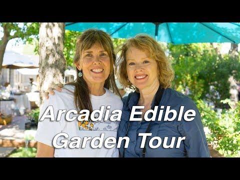 EDIBLE GARDEN Tour  | Phoenix, Arizona | 4 Beautiful Gardens!