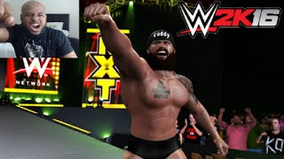 WWE 2K16 My Career - First Match [PS4 Gameplay]