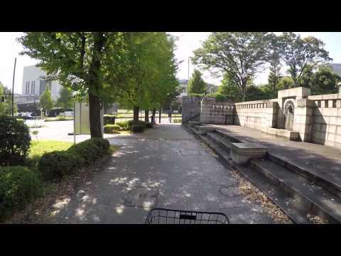 Cycling in Tokyo : Shinjuku Dori _ Kojimachi _ Uchibori Dori _ Kōkyogaien