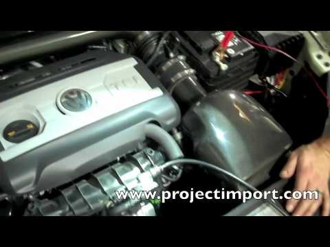 Project Import Smoke Test Vw Cc For Vacuum Leak Youtube
