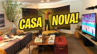 NOSSA CASA NOVA!!!