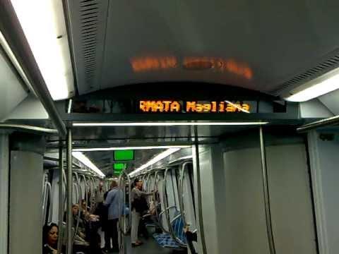 Le formidabili indicazioni della metro di Roma