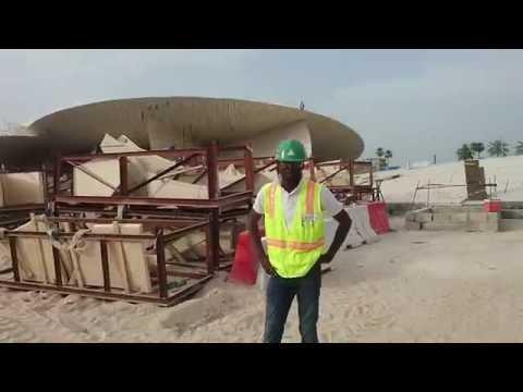 National Museum of Qatar - Construction Tour