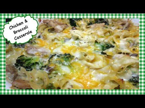 How To Make Easy Chicken & Broccoli Casserole ~ Noodle Casserole Recipe