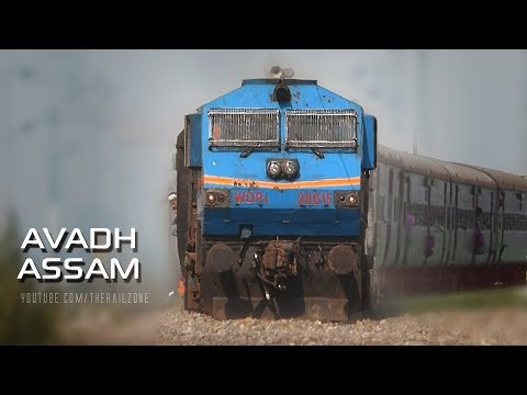 Longest running Daily Train in India | Avadh Assam Express
