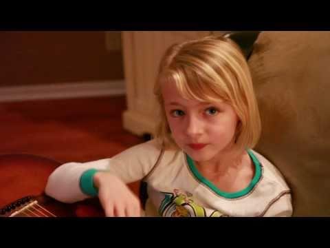 6 year old singing