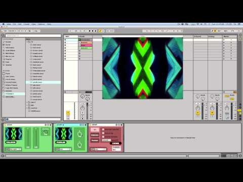 Video Drum Rack in Ableton Live (Free Download)