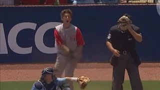 Trea Turner steals home to tie the game in college but the ump blows the call, a breakdown