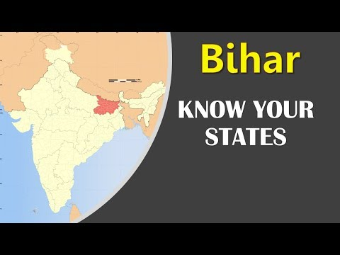 Bihar GK - Information about Bihar state - General Knowledge for Entrance Exams