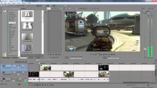 Como colocar um vídeo ou imagem dentro de outro vídeo - Sony Vegas