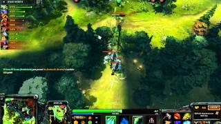 Dota: Medusa Power Farming!  10,000 Gold in 18 Minutes