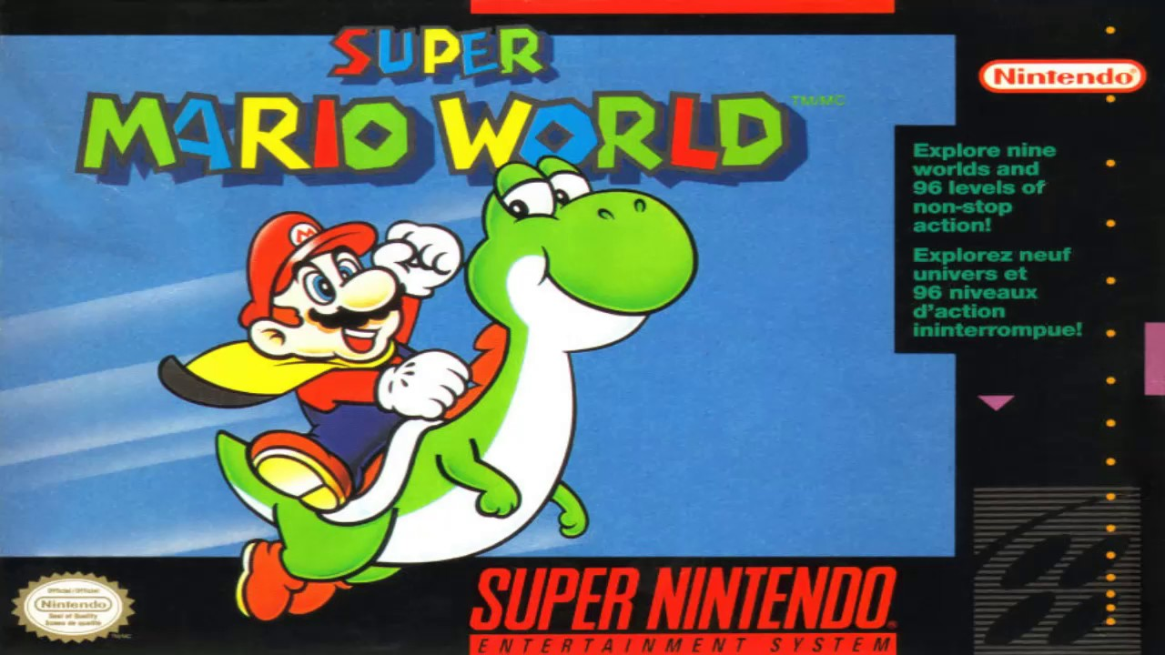 Image result for super mario world cover
