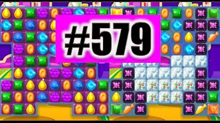 Candy Crush Soda Saga Level 579 NEW! | Complete